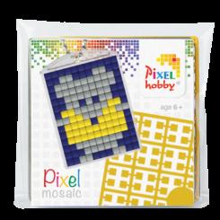 Pixel mosaic nøglering - Mus