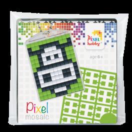 Pixel mosaic nøglering - Ko