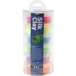 Silk Clay®, Neon, 6x14g.