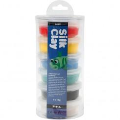 Silk Clay®, Basis, 6x14g.