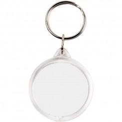 Nøglering, cirkel, dia. 40 mm.