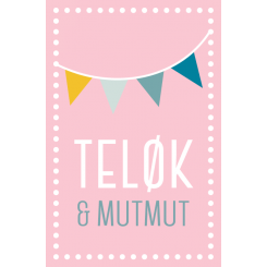 MutMut dobbeltkort - Teløk & Mut mut
