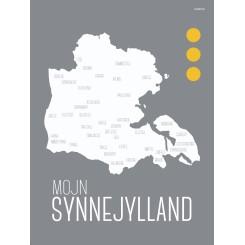 MutMut kort, A5 - Mojn Synnejylland - Byer