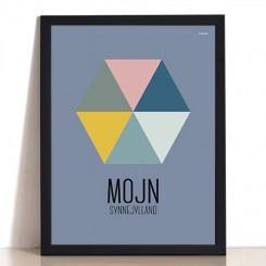 MutMut plakat 30 x 40 cm - Mojn Synnejylland