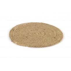 Dækkeserviet, sisal, 22 cm