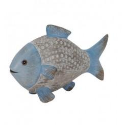 Fisk smal, keramik