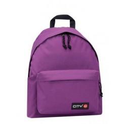 City rygsæk, violet