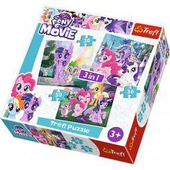 Puslespil My Little Pony - 3i1