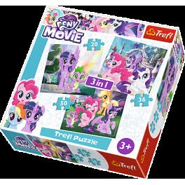 Puslespil My Little Pony - 3i1