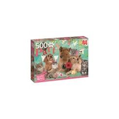 Puslespil Dyr til fødselsdag, 500 brikker