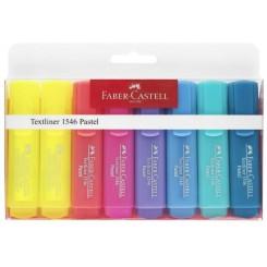 Faber Castell overstregningstuscher pastel, 8 stk.