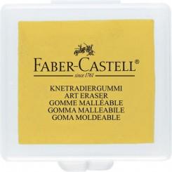Faber Castell Kneadable Art viskelæder gul