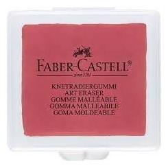 Faber Castell Kneadable Art viskelæder rød