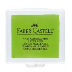 Faber Castell Kneadable Art viskelæder grøn