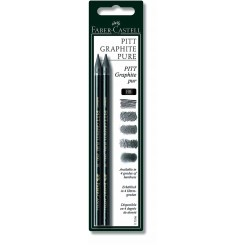 Faber Castell graphite pure HB, 2 stk.