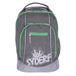 SYDERF Skoletaske Grå/grøn