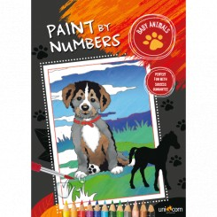 Paint by numbers, dyreunger