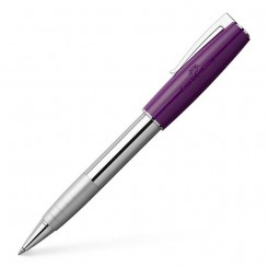 Faber Castell Rollerball pen LOOM, piano plum