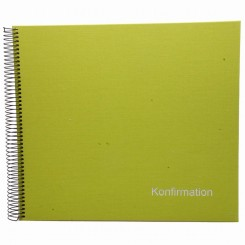 Goldbuch konfirmations album, lime