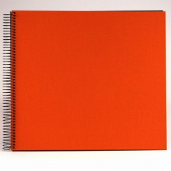 Goldbuch konfirmations album, orange