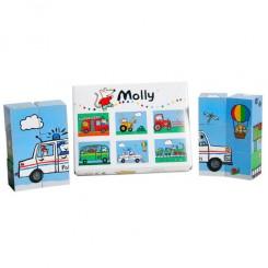 Billedklodser Molly
