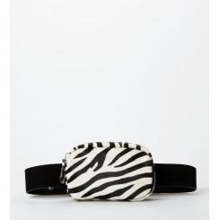 Edith fanny pack / bæltetaske Zebra