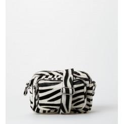 Treats Karla taske Suede Zebra