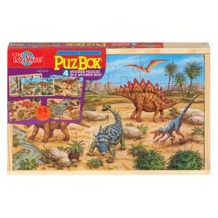 Puslespils box Dinosaurs