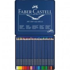 Faber Castell art grip akvarelblyanter, 24 stk.