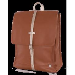 Unkeeper læder rygsæk, brun