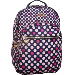 Miss Lemonade rygsæk, pink dots