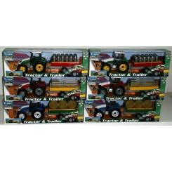 Teama Farm traktor m/hænger
