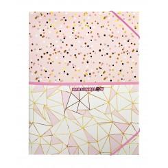Elastikmappe A4 - Marshmallow