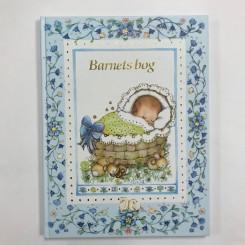 Barnets bog - lyseblå