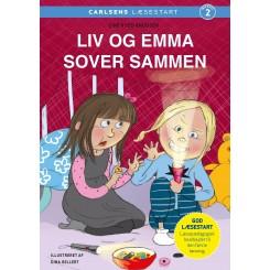 Carlsens Læsestart: Liv og Emma sover sammen