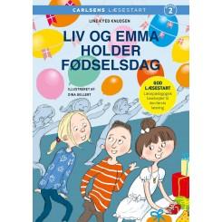 Carlsens Læsestart: Liv og Emma holder fødselsdag