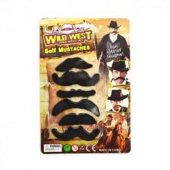 Mustaches, 6 stk.