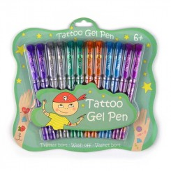 Tattoo gelpens 12 stk.