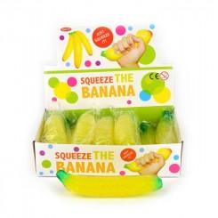 Squeeze banan, 18cm