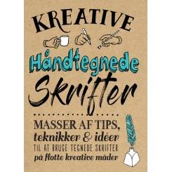 Kreative håndtegnede skrifter - Masser af tips, tekniker og ideer