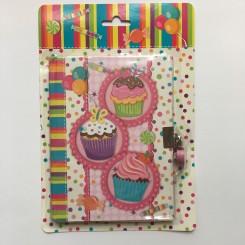 Dagbog med cupcakes, A5