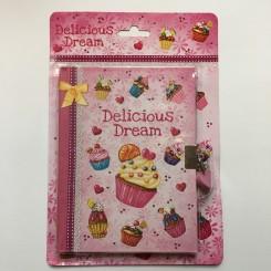 Dagbog med Delicious Dream, A5