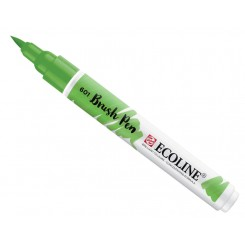 Ecoline watercolor brush pen, Light Green / 601