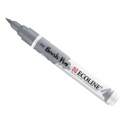 Ecoline watercolor brush pen, Cold Grey / 717