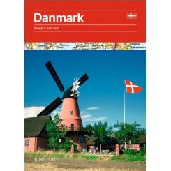 Danmark vejkort 1:530.000