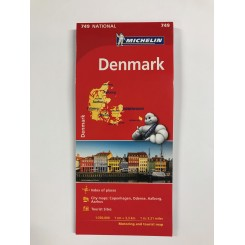 Danmark vejkort 1:330.000