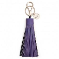 Refleks kvast nøglering soft, Deep Purple