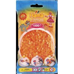 Hama MIDI perler, 1000 stk., neon orange