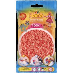 Hama MIDI perler, 1000 stk., pastel rød