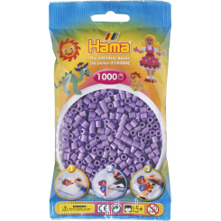 Hama MIDI perler, 1000 stk., pastel lilla